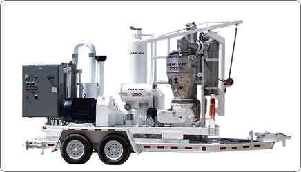 ChemVac on Towable Trailer Portable